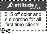 Attitude Salon Discount Coupon