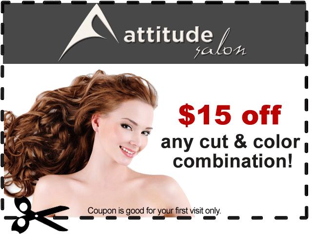 Attitude Salon $15 Off Coupon