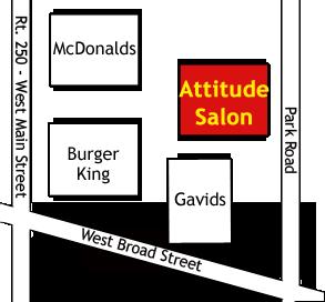 Attitude Salon Map